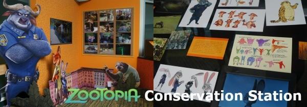 Disney's Animal Kingdom theme park, Zootopia in the Conservation Station, Rafiki's Planet Watch
