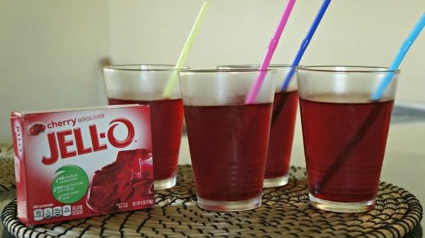 Funny pranks for kids- April Fools Day Jell-o juice joke idea