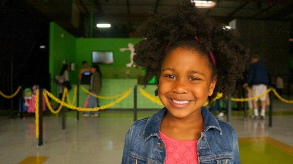 Rockin Jump San Diego, Birthday girl is ready to jump