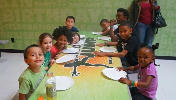 Rockin Jump San Diego kids birthday party