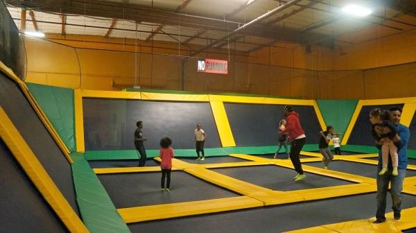 Rockin Jump San Diego trampolines