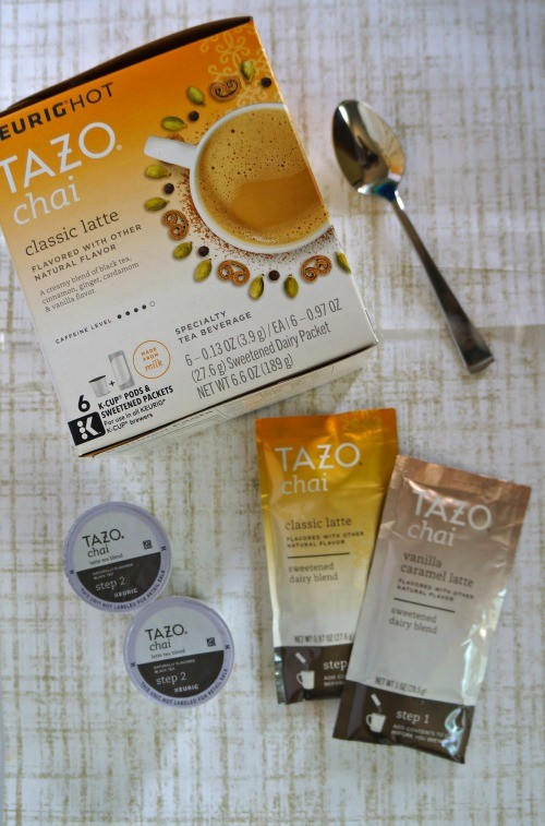 Make Tazo® Chai Classic Latte Kcups at home