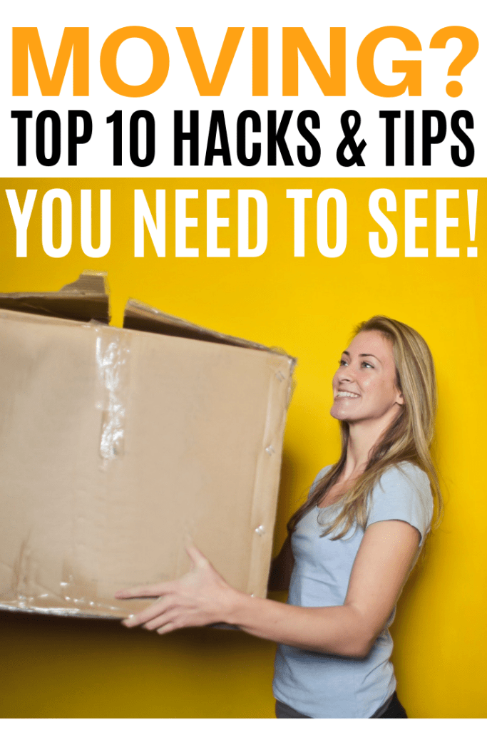 10 moving hacks for packing - tips for moving and move in day