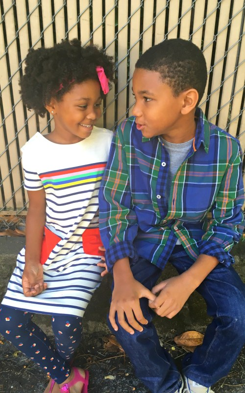 Cute and comfortable kids clothes with Mini Boden back to school styles