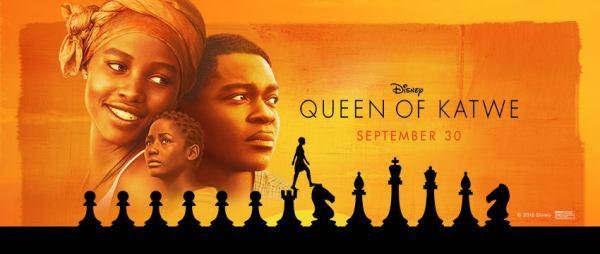 Disneys Queen of Katwe movie in theaters September 30, 2016