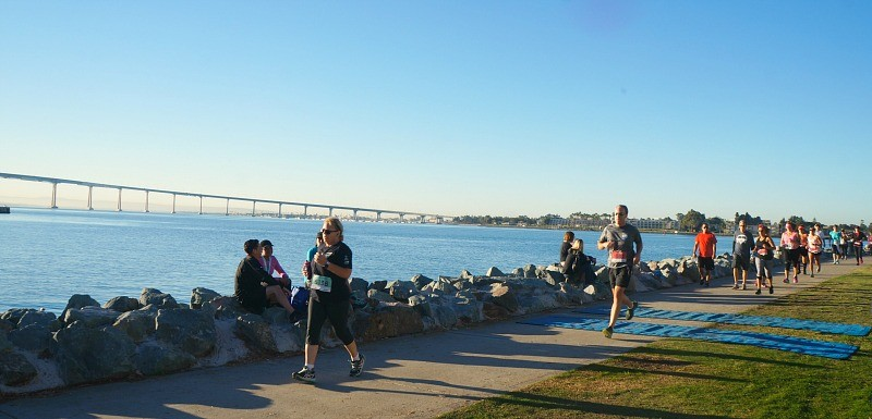 Steps to maintain a healthy lifestyle, runners at the Fit Foodie Run, San Diego