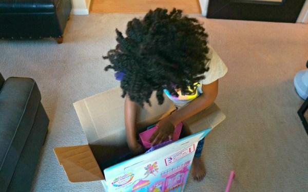 Barbie Rainbow Cove Princess Castle Playset unboxing