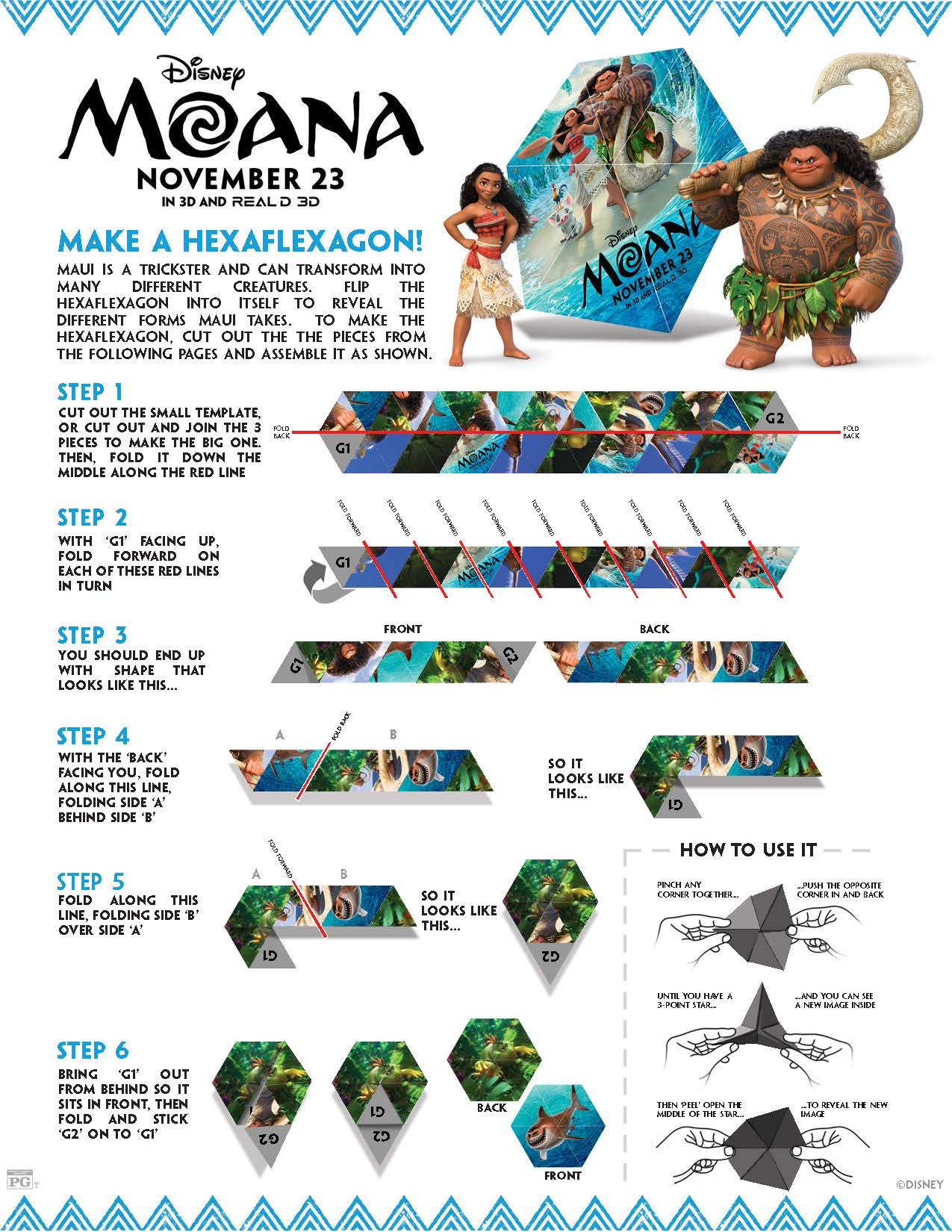 Disney S Moana Coloring Pages And Activity Sheets Printables