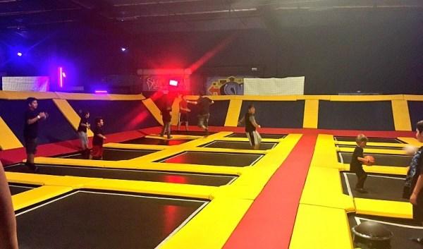 Family friendly activities in camarillo ca sky high trampoline park