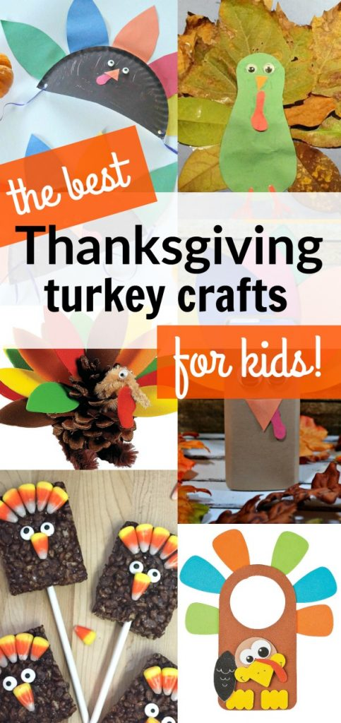 We love these Thanksgiving turkey crafts for kids with your family this November! These easy, hands on, and kid friendly crafts are fun to make for Thanksgiving