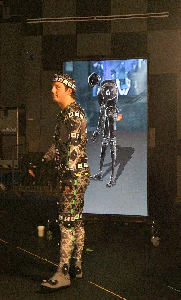 Photos of Lucasfilm headquarters, Rogue One Star Wars K2SO is animated with a motion suit