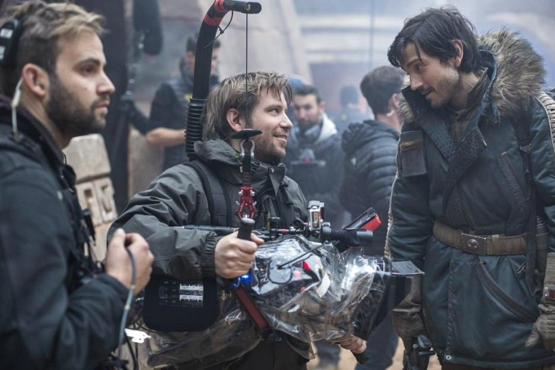 Rogue One Director Gareth Edwards on the Star Wars set