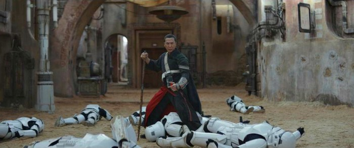 Rogue One Donnie Yen's Star Wars character Chirrut Imwe
