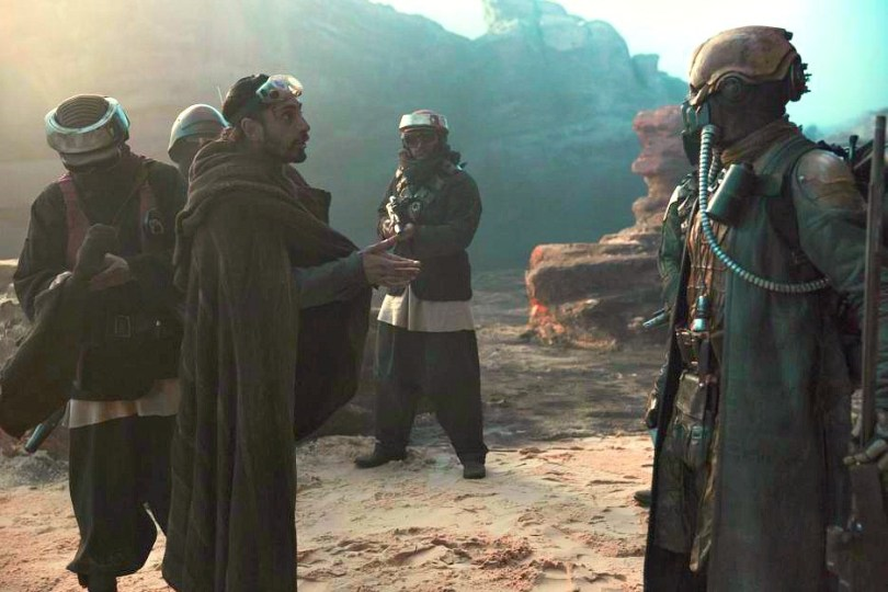 Rogue One Riz Ahmed's Star Wars character Bodhi Rook