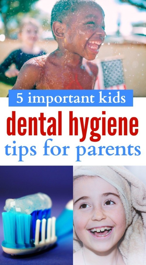 5 Good Dental Hygiene Tips For Children That They Need To Learn NOW