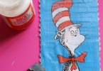 Cat in the hat DIY Dr. Seuss Puzzle, Mom Endeavors