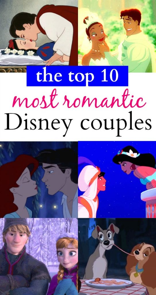The Top 10 Most Romantic Disney Couples That We Secretly Want To Be