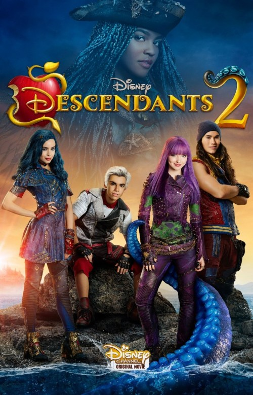 Disney Descendants 2 movie premieres July 21, 2017 on the Disney Channel