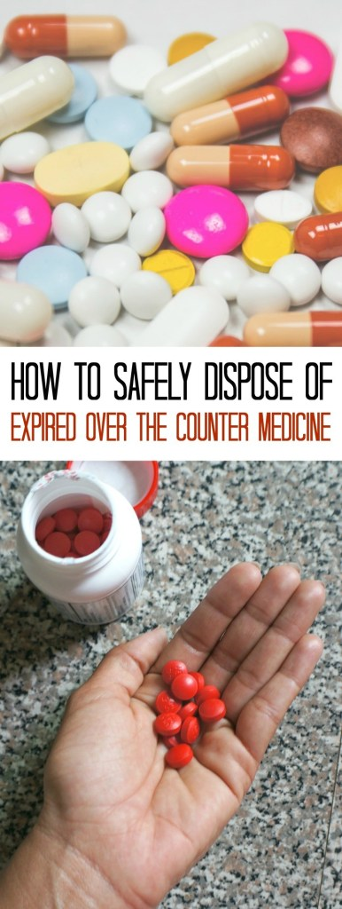 How to Dispose of Expired Over The Counter Medicine Safely In 3 Steps