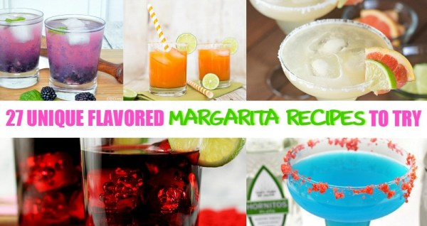 27 Fabulously Unique Flavored Margarita Recipes - OMG these look amazing!