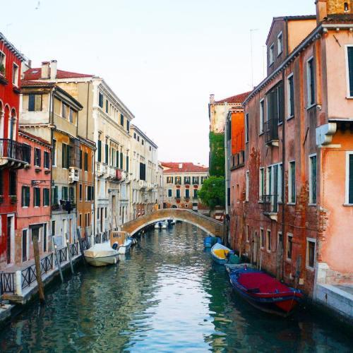 Canal bridge in Venice, Italy