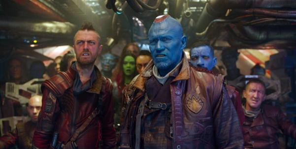 Guardians of the Galaxy movie, Ravagers Yondu and Kraglin