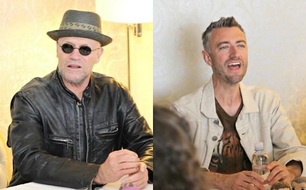 Michael Rooker and Sean Gunn return as Ravagers Yondu and Kraglin in Guardians of the Galaxy Vol. 2