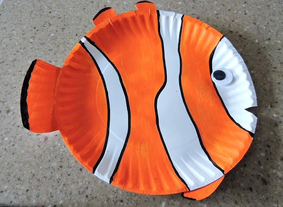Super Cute Paper Plate Fish Craft For Kids Natural Beach Living & Paper Plate Fish Craft Ideas - The Best Fish 2018