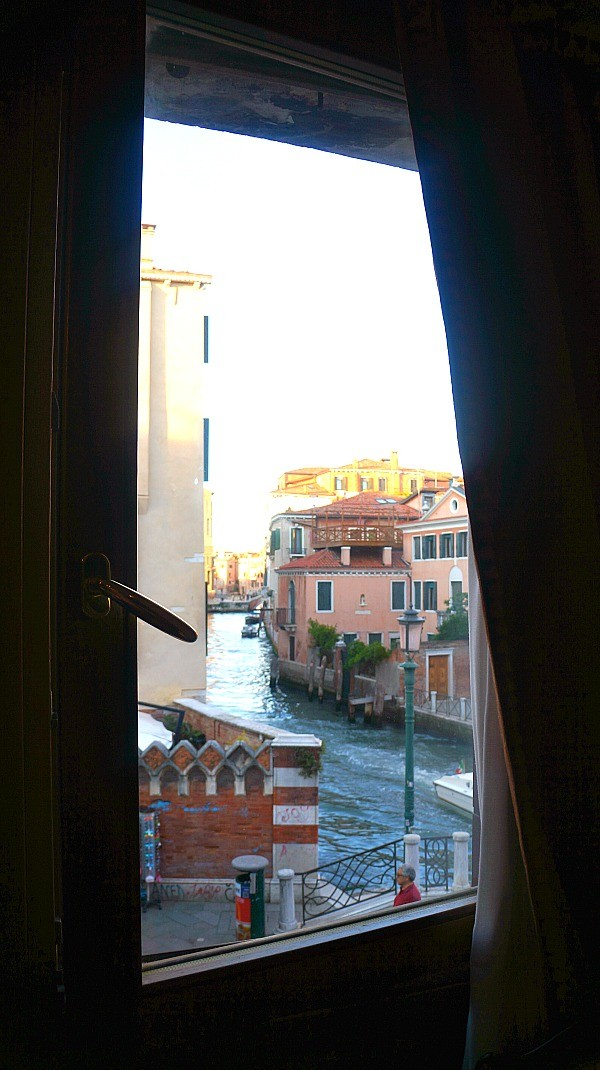 Canal view rooms at Ca Gottardi Hotel, a Venice boutique hotel in Cannaregio