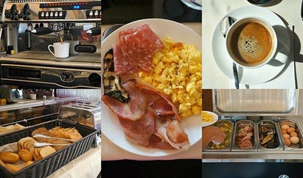 Free breakfast and coffee daily at Ca Gottardi Boutique Hotel in Venice Italy