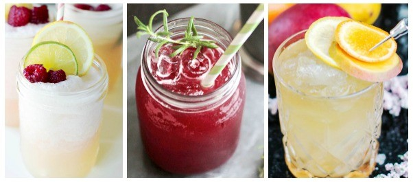 summer lemonade cocktail recipes - you'll love these lemonade mixed drinks!