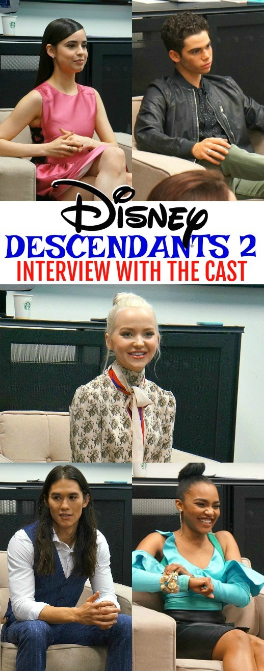 Disney's Descendants 2 Cast Shares Exciting Information About the Movie! Watch on Friday, July 21 on the Disney Channel