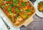 Ground turkey casserole recipes - easy turkey taco bake