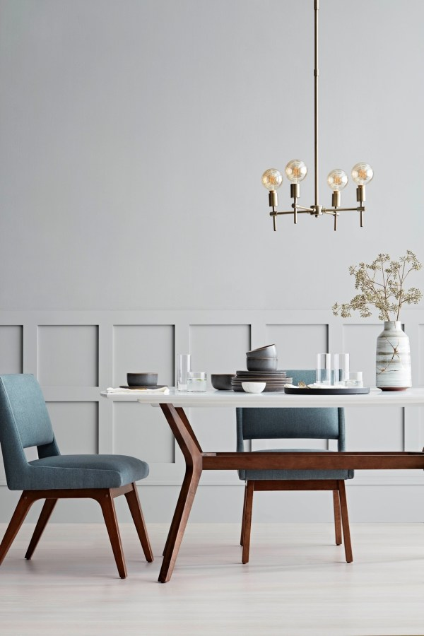 Project 62 dining room table and kitchen decor