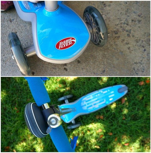 Radio Flyer Build-A-Scooter made custom for kids