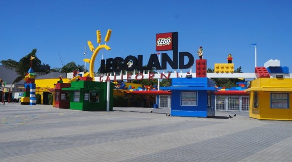 Legoland California Theme Park Entrance Carlsbad CA