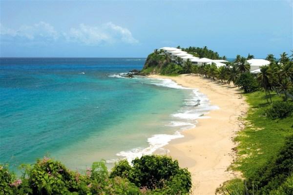 Photos of Antigua beaches, Curtain Bluff Hotel beach