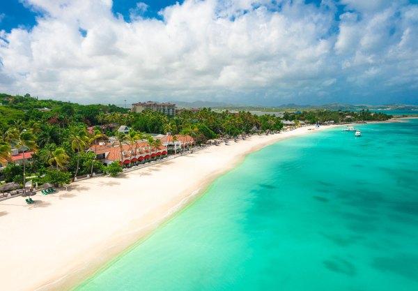 photo: Sandals Grande Antigua All Inclusive Resort on Dickenson Bay