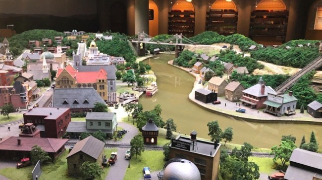 Miniature Railroad at Carnegie Science Center Pittsburgh PA