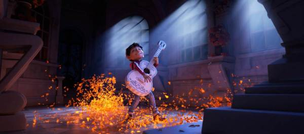 Disney Pixar's COCO movie still of Miguel