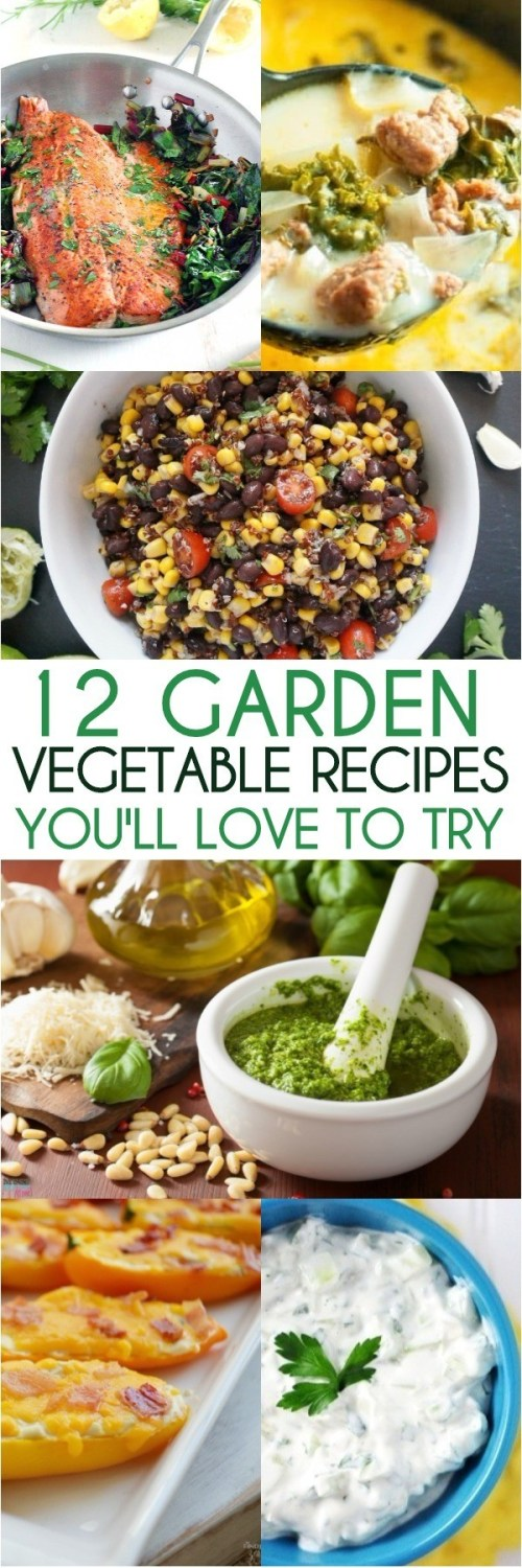 12 Spring Garden Vegetable Recipes You'll Love To Make With Your Harvest