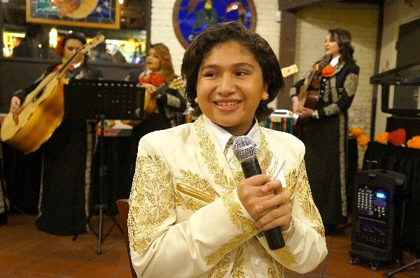 Anthony Gonzalez, voice of Miguel in Disney Pixar's Coco movie, sings in Los Angeles
