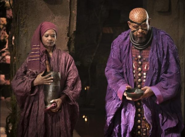 Forest Whitaker plays Zuri in Marvel's Black Panther movie