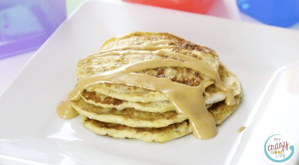 Banana pancakes recipe - My Crazy Good Life