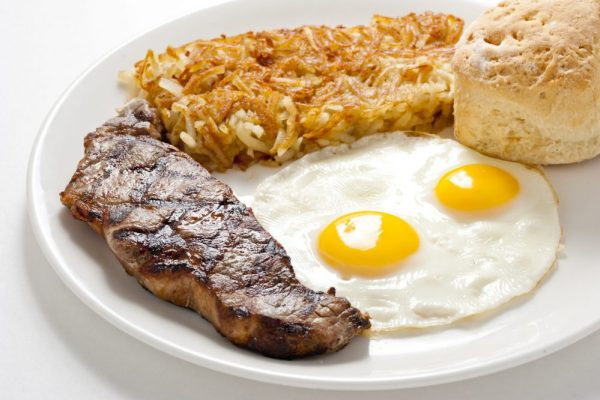 Broken Yolk steak and eggs, best San Diego breakfast restaurants