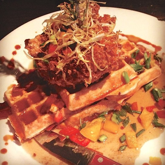 Sage Fried Chicken and Waffles, Hash House A Go Go, San Diego
