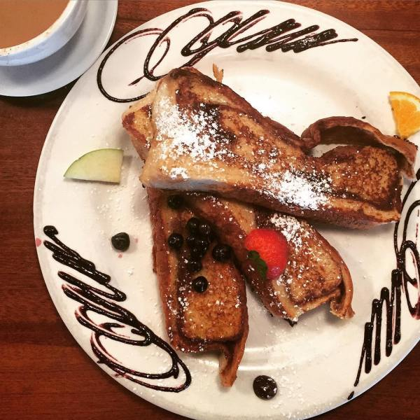 The best breakfast spots in San Diego, CA, french toast at The Mission North Park