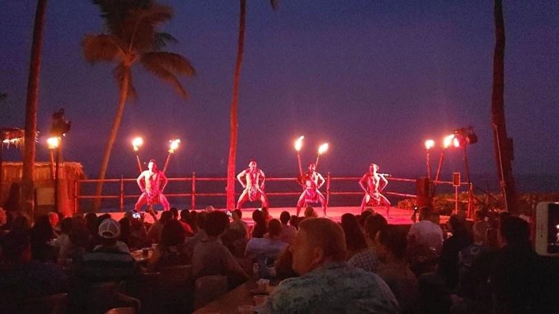 Awesome luau performance at the Royal Kona Resort Big Island Hawaii