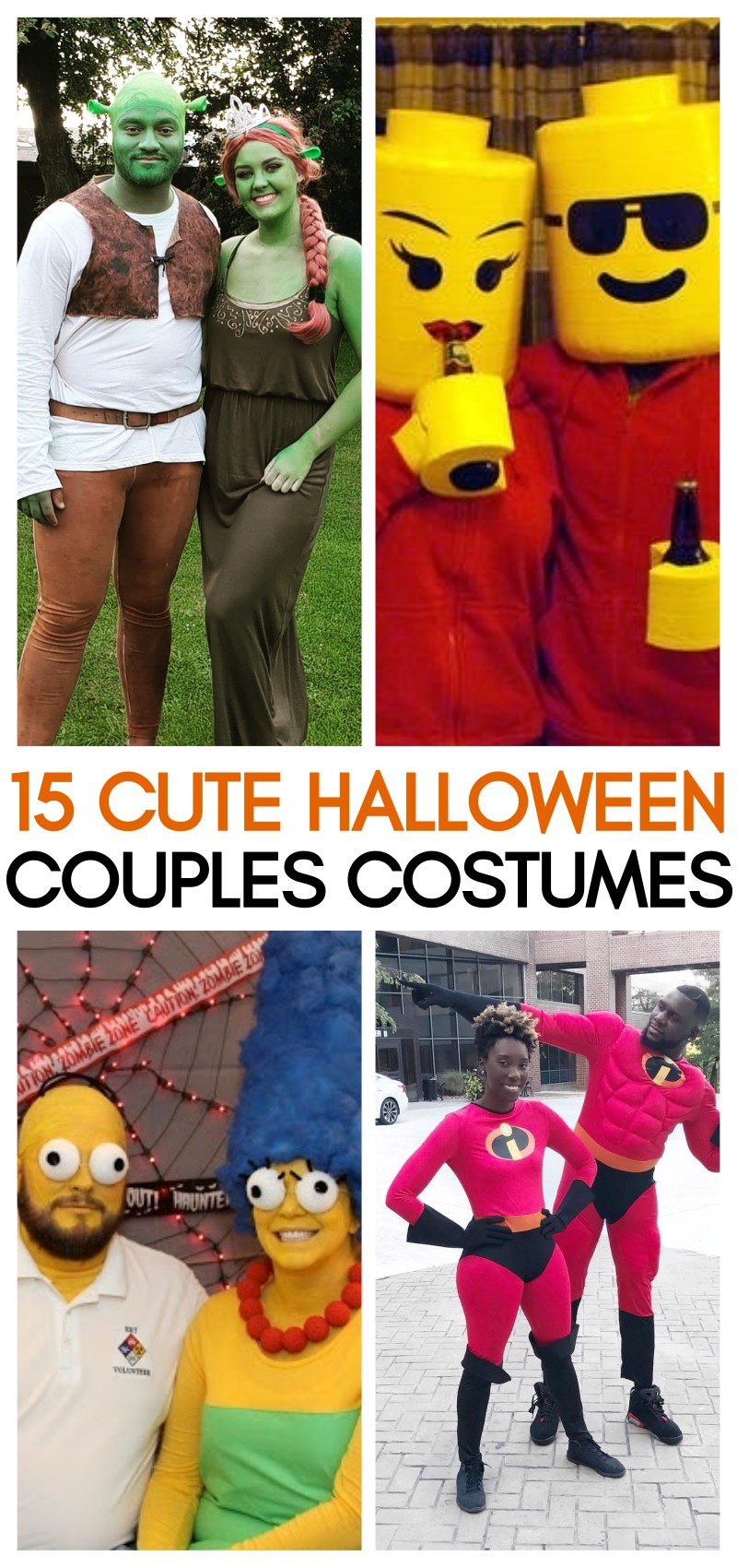 15 Cute Couples Costumes for Halloween Ideas - Some of These Are Brilliant | best couples costumes | halloween costume ideas for couples | creative couples costumes | halloween couples costume ideas | honeyandlime.co