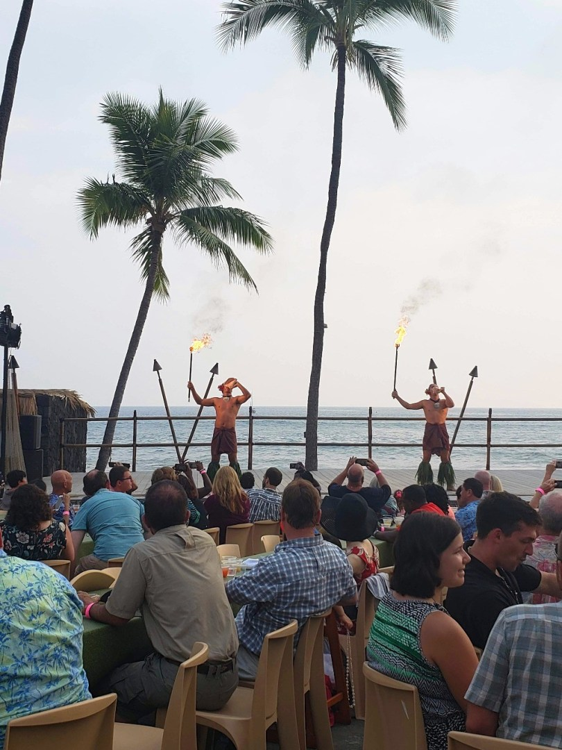Big Island luau at the Kona Resort